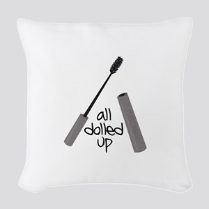 All Dolled up Woven Throw Pillow