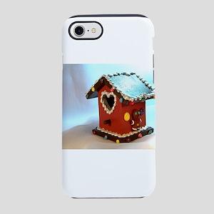 Gingerbread Birdhouse III iPhone 7 Tough Case