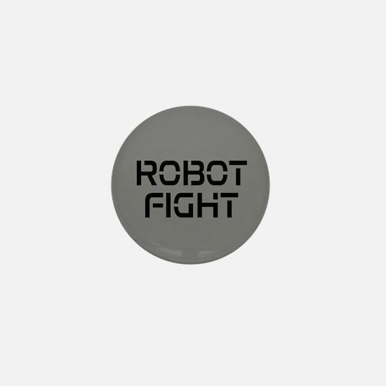 Robot Fight Mini Button