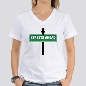 Streets Ahead Women's V-Neck T-Shirt