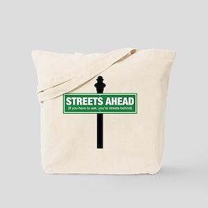 Streets Ahead Tote Bag