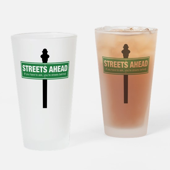 Streets Ahead Drinking Glass