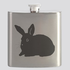 Bunny Silhouette Flask