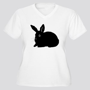 Bunny Silhouette Plus Size T-Shirt