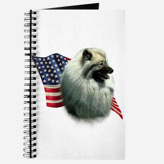 Keeshond Flag Journal