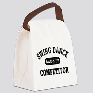 Swing Dance Jack and Jill Competi Canvas Lunch Bag