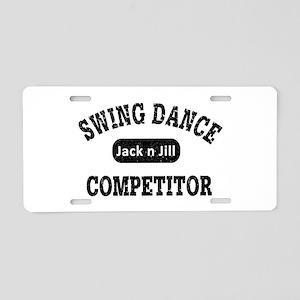 Swing Dance Jack and Jill C Aluminum License Plate