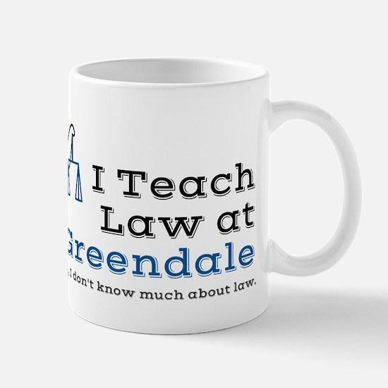 Greendale Law Mug