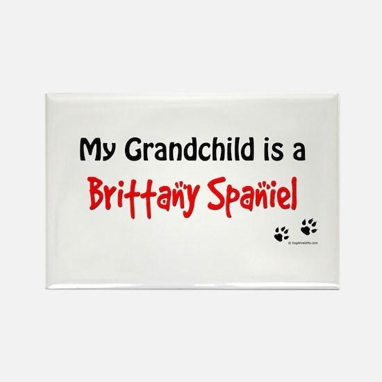 Brittany Grandchild Rectangle Magnet