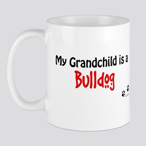 Bulldog Grandchild Mug