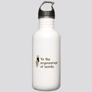 Empowerage of Words Stainless Water Bottle 1.0L