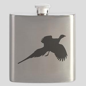 Pheasant Silhouette Flask