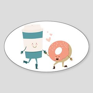 Coffe & Doughut Sticker