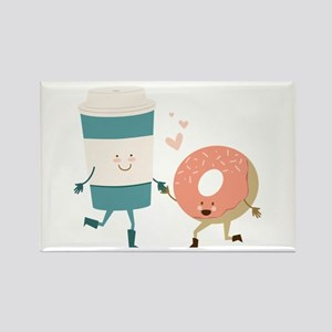 Coffe & Doughut Magnets