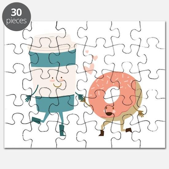 Coffe & Doughut Puzzle