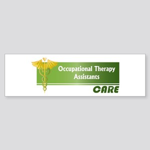 Occupational Therapy Assistants Care Sticker (Bump