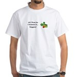 Christmas Veggies White T-Shirt
