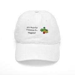 Christmas Veggies Baseball Cap
