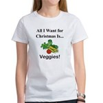 Christmas Veggies Women's T-Shirt