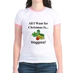 Christmas Veggies Jr. Ringer T-Shirt