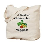 Christmas Veggies Tote Bag