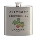 Christmas Veggies Flask
