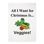 Christmas Veggies 5'x7'Area Rug