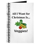 Christmas Veggies Journal