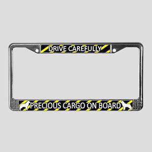 Precious Cargo Siberian Husky License Plate Frame
