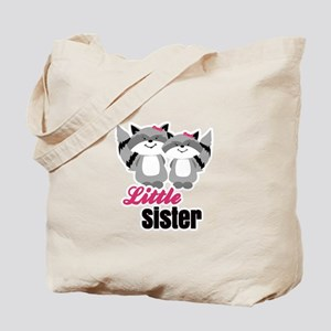 Raccoons Little Sister Tote Bag