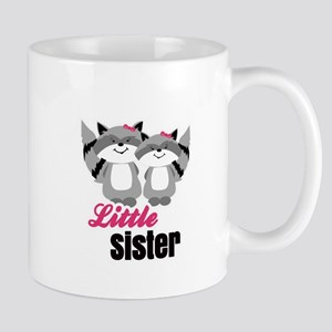 Raccoons Little Sister Mugs