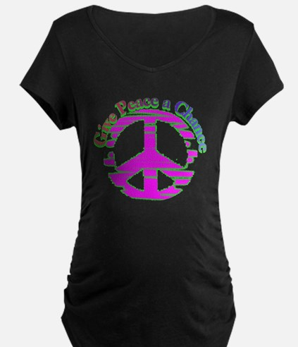 Give Peace a Chance Sign  T-Shirt