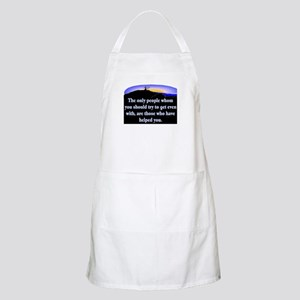 GET EVEN WITH KIND PEOPLE Apron
