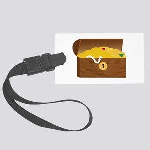 Treasure Chest Luggage Tag