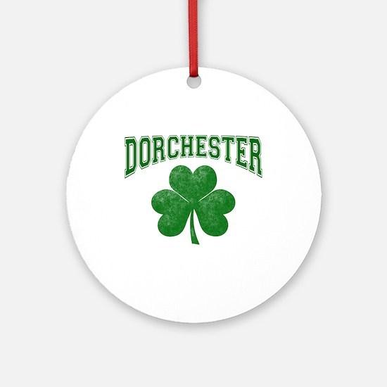 Dorchester Irish Ornament (Round)