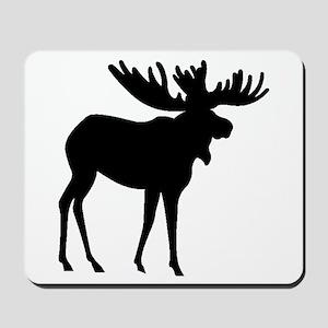 Moose Silhouette Mousepad