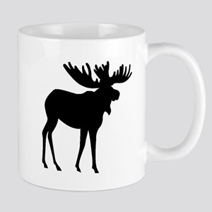 Moose Silhouette Mugs