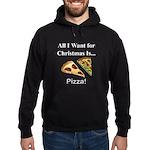 Christmas Pizza Hoodie (dark)