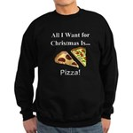Christmas Pizza Sweatshirt (dark)