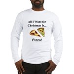 Christmas Pizza Long Sleeve T-Shirt