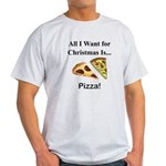 Christmas Pizza Light T-Shirt