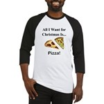 Christmas Pizza Baseball Jersey