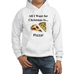 Christmas Pizza Hooded Sweatshirt