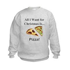 Christmas Pizza Sweatshirt