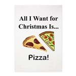 Christmas Pizza 5'x7'Area Rug