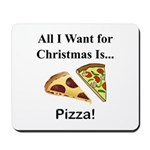 Christmas Pizza Mousepad