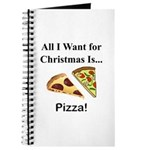 Christmas Pizza Journal