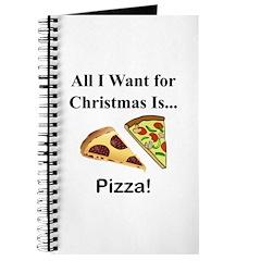 Christmas Pizza Journal