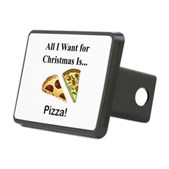 Christmas Pizza Hitch Cover