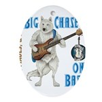 Chase On Bass Ornament (Oval)